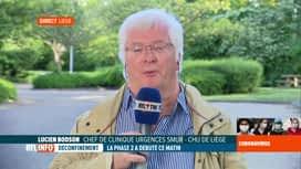 RTL INFO 19H : Coronavirus en Belgique: réaction de L. Bodson après sa visite en é...