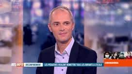 RTL INFO 19H : Coronavirus et enfants: le cri d'alarme de Stéphane Moniotte