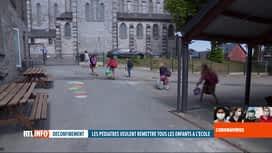 RTL INFO 19H : Déconfinement: l'avis des parents concernant la réouverture des écoles