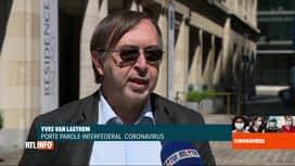 RTL INFO 13H : Coronavirus en Belgique: analyse des chiffres des dernières 24 heures