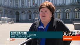 RTL INFO 13H : Colère des soignants: les arrêtés royaux controversés seront retirés