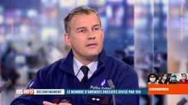 RTL INFO 13H : Coronavirus en Belgique: baisse spectaculaire des PV dressés par la...
