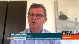 RTL INFO 19H : Déconfinement en Belgique: réaction des bourgmestres de la côte