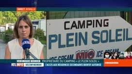RTL INFO 19H : Déconfinement en Belgique: réaction dans un camping d'Aywaille