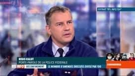 RTL INFO 19H : Coronavirus en Belgique: les contrôles policiers sont toujours d'ap...