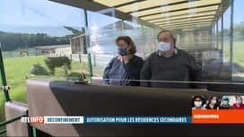 RTL INFO 13H : Coronavirus en Belgique: réouverture du Domaine des Grottes de Han