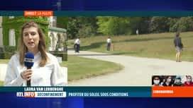 RTL INFO 13H : Coronavirus en Belgique: la situation à La Hulpe en ce jour d'Ascen...