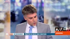 RTL INFO 13H : Stéphan Van Bellinghen nous donne les prévisions météo