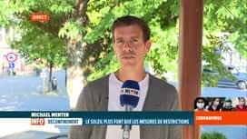 RTL INFO 19H : Coronavirus en Belgique: en direct de Durbuy avec Michaël Menten
