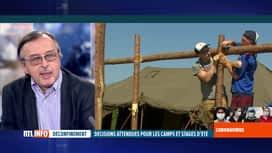 RTL INFO 13H : Coronavirus en Belgique: Yves Van Laethem évoque les camps et stage...