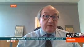 RTL INFO 13H : Coronavirus en Belgique: le point sur la situation en maisons de repos