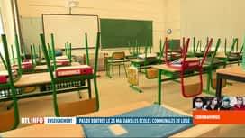 RTL INFO 19H : Coronavirus en Belgique: pas d'école pour les primaires communales ...