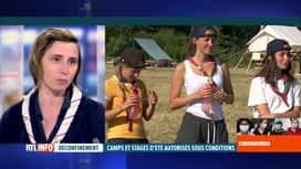 RTL INFO 19H : Coronavirus en Belgique: Christelle Alexandre évoque les camps scouts