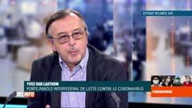 RTL INFO 19H : Coronavirus en Belgique: analyse du déconfinement avec Yves Van Lae...
