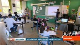 RTL INFO 13H : Déconfinement: vers une réouverture de toutes les classes le 2 juin ?