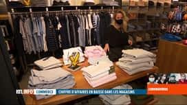 RTL INFO 13H : Déconfinement: bilan mitigé pour les commerces