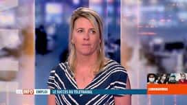 RTL INFO 13H : Coronavirus en Belgique: retour sur la pratique du télétravail en B...
