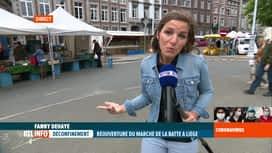 RTL INFO 13H : Déconfinement: en direct de la Batte avec Fanny Dehaye