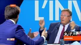 RTL INFO 13H : Pascal Vrebos reçoit Georges-Louis Bouchez après le RTLInfo 13h