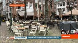 RTL INFO 19H : Coronavirus: vers une réouverture des terrasses de café?