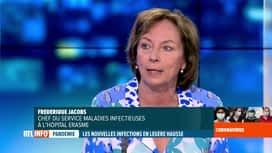 RTL INFO 19H : Coronavirus en Belgique: Frédérique Jacobs revient sur le plateau