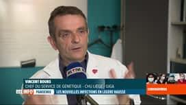 RTL INFO 19H : Coronavirus en Belgique: des labos tentent d'établir la carte ADN d...