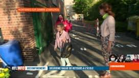 RTL INFO 13H : Coronavirus en Belgique: deuxième vague de rentrée des classes