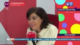 La matinale Bel RTL : Joelle Milquet, ancienne présidente du Cdh