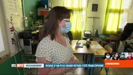 RTL INFO 19H : Coronavirus en Belgique: la rentrée scolaire vue différemment en Fl...