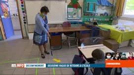 RTL INFO 19H : Coronavirus en Belgique: deuxième vague de rentrée scolaire