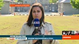 RTL INFO 19H : Coronavirus en Belgique: le point sur la 2e  vague de rentrée des c...