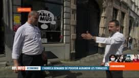 RTL INFO 13H : Coronavirus en Belgique: l'Horeca prépare la réouverture des terrasses