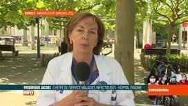 RTL INFO 13H : Coronavirus en Belgique: l'avis du professeur Jacobs sur les anticorps