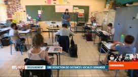 RTL INFO 13H : Déconfinement: vers un allégement des distances sociales dans les é...