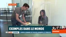 RTL INFO 13H : Coronavirus: l'inventivité de restaurateurs pour respecter les règles