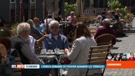 RTL INFO 19H : Coronavirus: les terrasses, un peu aménagées, rouvertes en Allemagne
