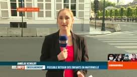 RTL INFO 19H : Déconfinement: va-t-on vers un retour des tous les élèves à l'école?