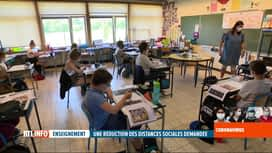 RTL INFO 19H : Déconfinement: des mesures très lourdes pour les élèves de primaire