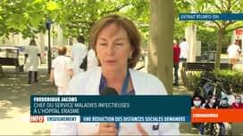 RTL INFO 19H : Déconfinement: l'avis du Dr Jacobs sur l'assouplissement dans les é...