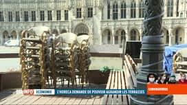 RTL INFO 19H : Coronavirus en Belgique: l'Horeca prépare la réouverture des terrasses