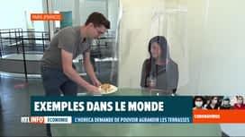 RTL INFO 19H : Coronavirus: l'inventivité des restaurateurs pour respecter les règles