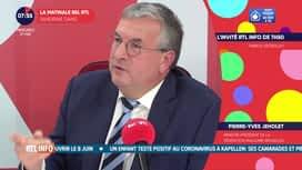 L'invité de 7h50 : Pierre-Yves Jeholet, ministre-président de la Fédération...
