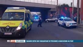 RTL INFO 13H : Deux bandes rivales s'affrontent à Marchienne-au-Pont, 50...