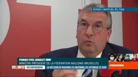 RTL INFO 13H : Coronavirus en Belgique: vers une rentrée de tous les élèves à l'éc...