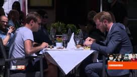 RTL INFO 19H : Coronavirus: les Luxembourgeois profitent des terrasses des restaur...