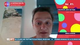 La matinale Bel RTL : Erika Vlieghe, présidente du groupe d'experts de la stratégie de so...