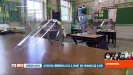 RTL INFO 13H : Coronavirus en Belgique: comment va s'opérer la reprise dans les éc...