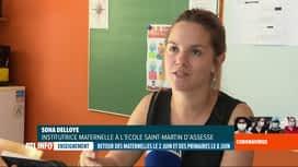 RTL INFO 13H : Coronavirus en Belgique: réactions des profs sur les retours à l'école