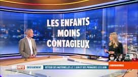 RTL INFO 13H : Coronavirus en Belgique: analyse des retours à l'école avec un pédi...