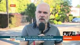 RTL INFO 19H : Coronavirus en Belgique: les syndicats dénoncent les retours à l'école